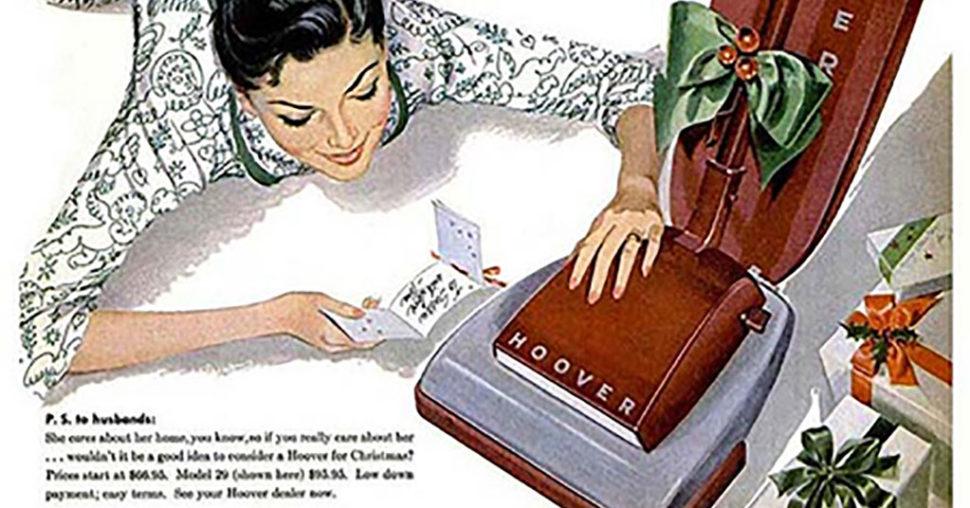 hoover vacuum cleaner ad