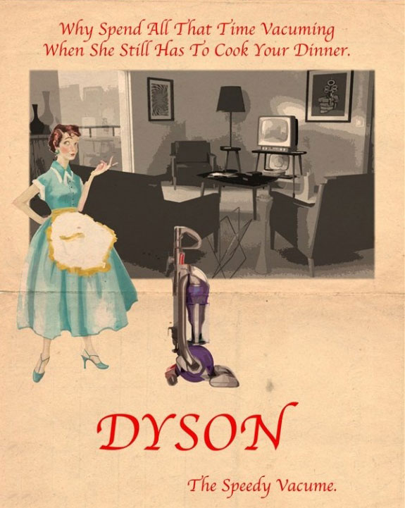Dyson Vintage Vacuum Cleaner Ad