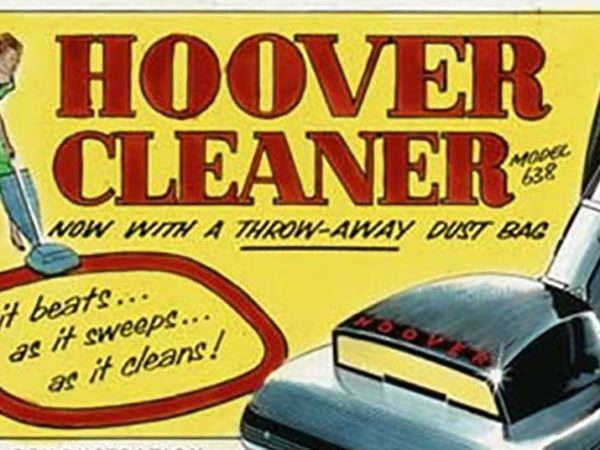 Hoover cleaner ad