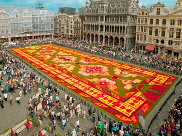Beautiful Flower Carpet