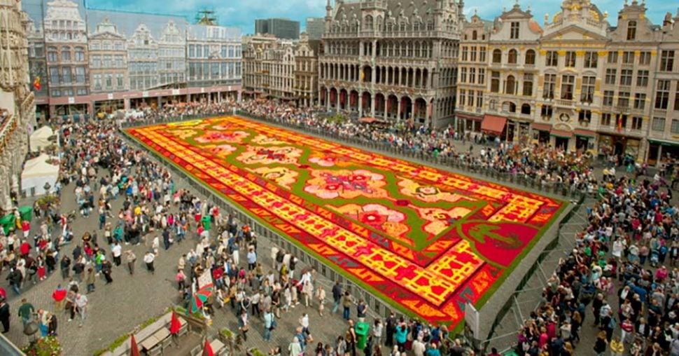Beautiful Flower Carpet
