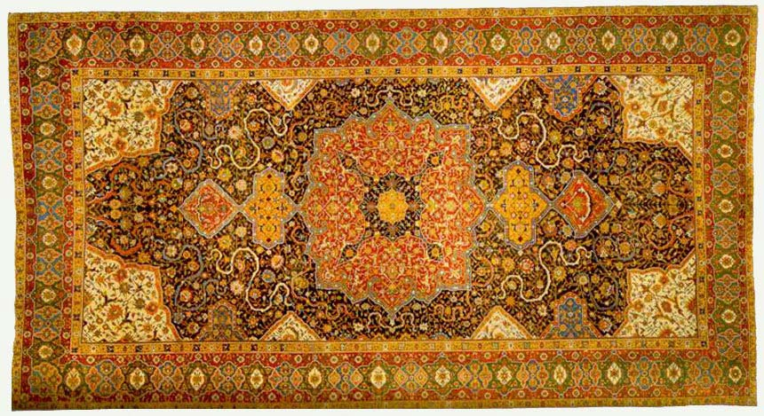 The Rotshild Tabriz Madallion Carpet