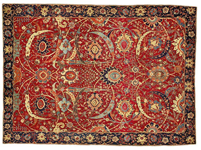 Sickle-Leaf Persian Rug
