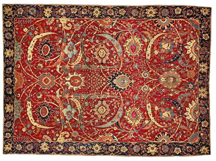 Sickle-Leaf Persian Rug
