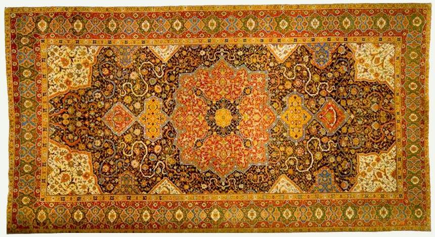 The Rotshild Tabriz Madallion Carpet