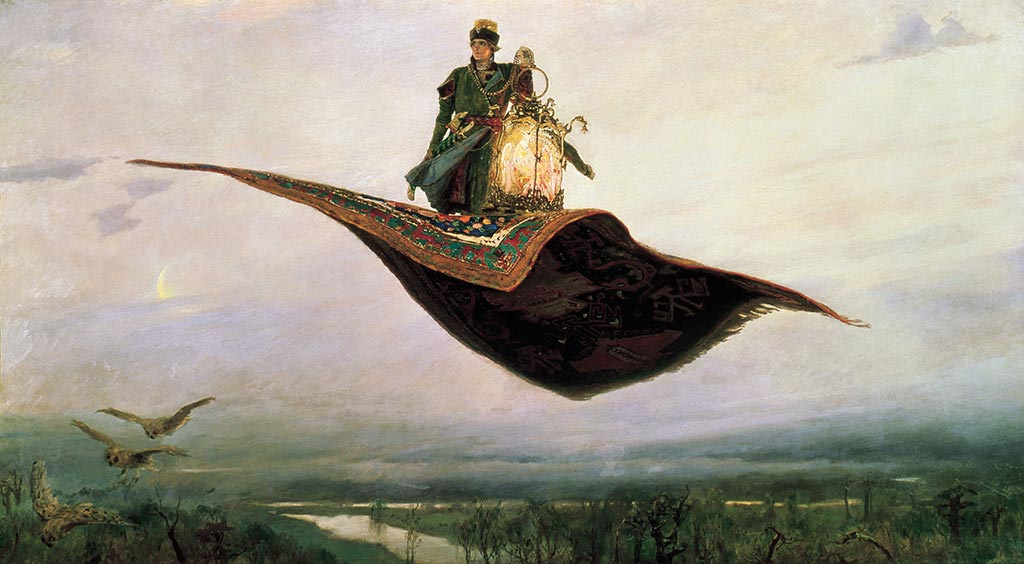Ivan Tsarevich flying carpet