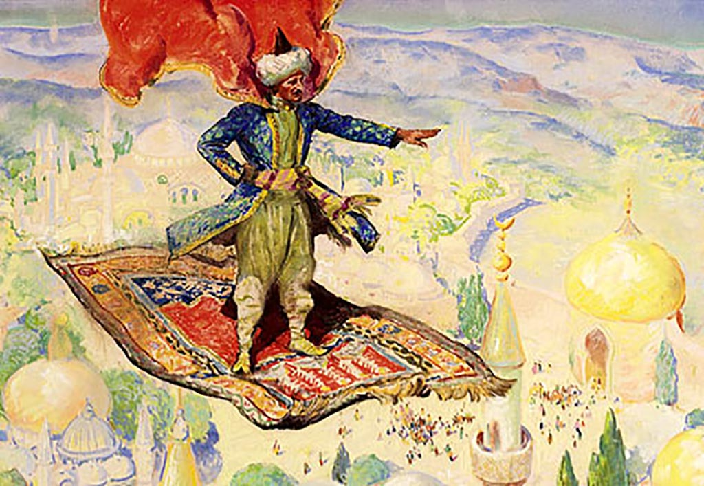 1001 nights flying carpet