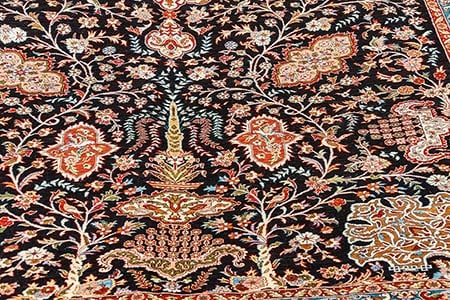 Silk Carpets And Rugs Have A Natural Shimmer Smooth Soft Texture That Can T Be Beaten By Other Materials Composed Largely Of Protein Called Fibroin