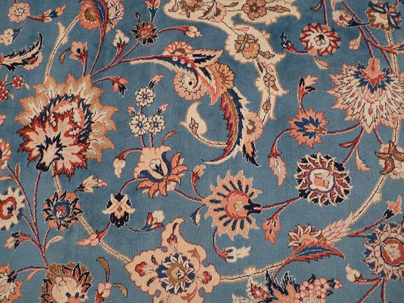 Carpet of Wonder blue colouring