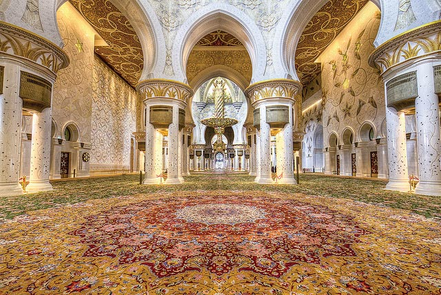 sheikh zayed grand mosque carpet