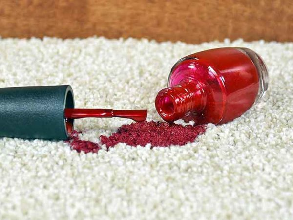How to Get Nail Polish Off a Carpet