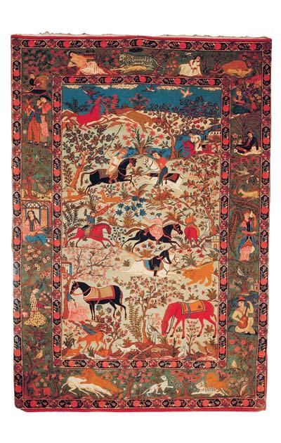 khosrow shirin hunt together rug