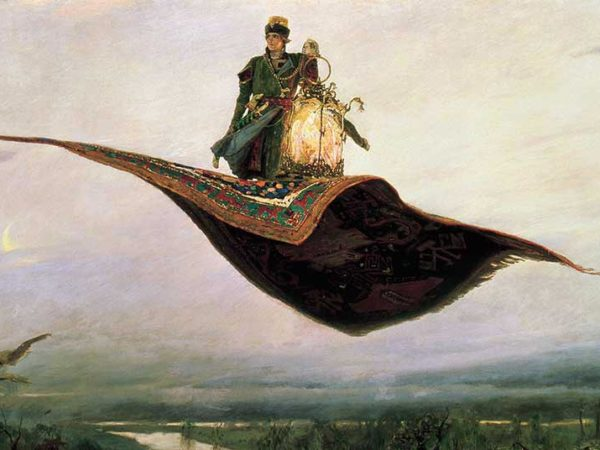 magic carpets in art viktor vasnetsov