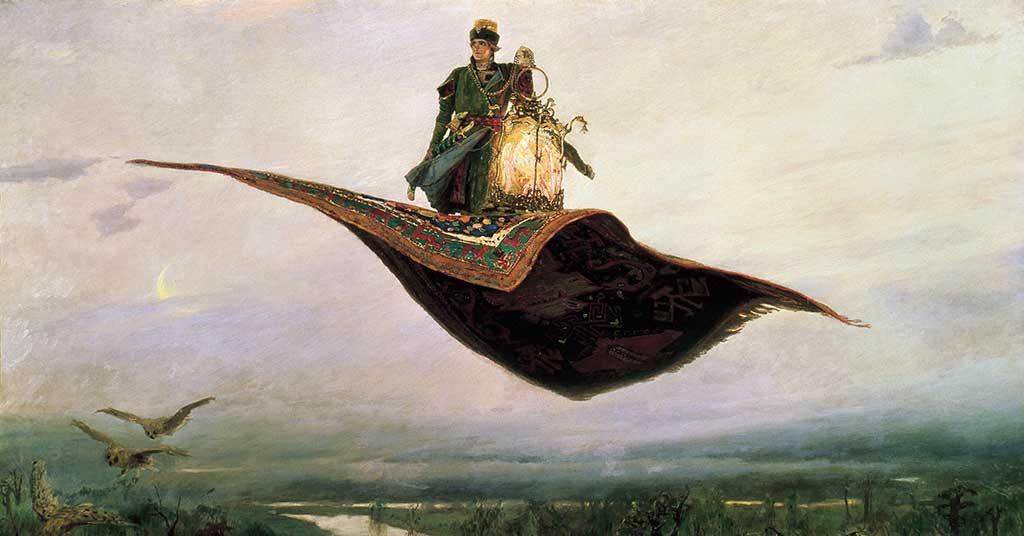 magic carpets in art viktor vasnetsov