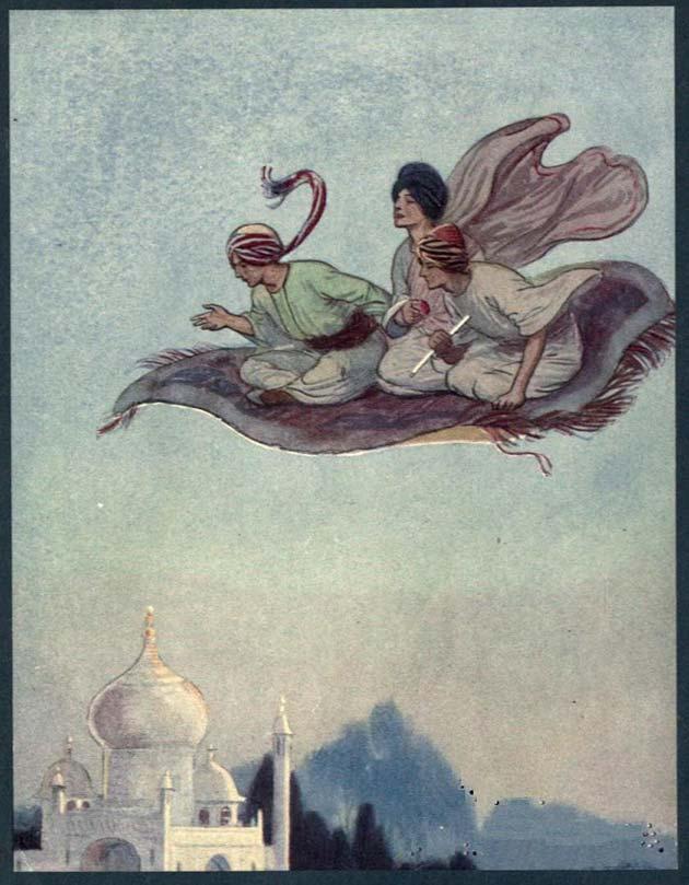 arabian nights illustration soper