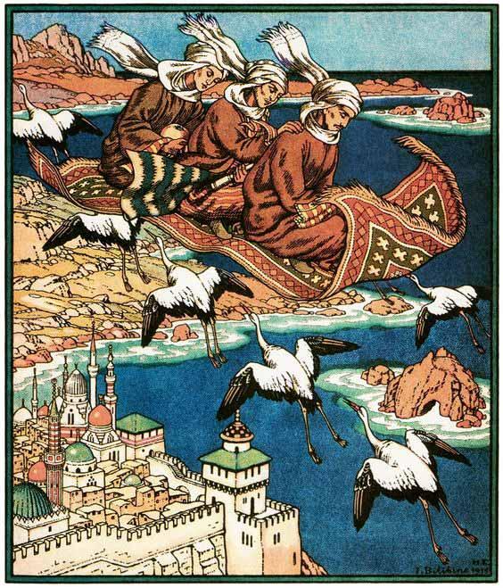 the magic carpet ivan yakovlevich bilibin
