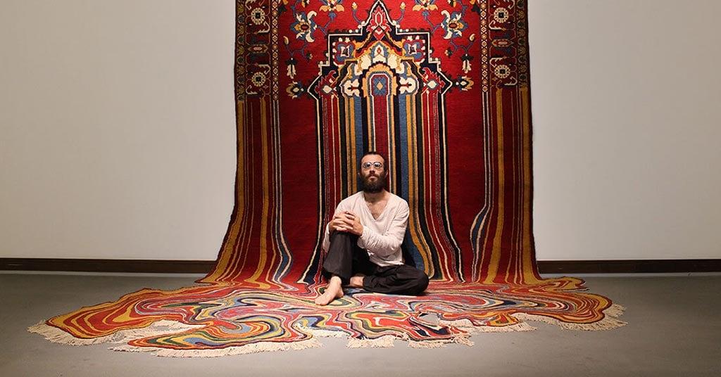 faig ahmed modern melting carpets