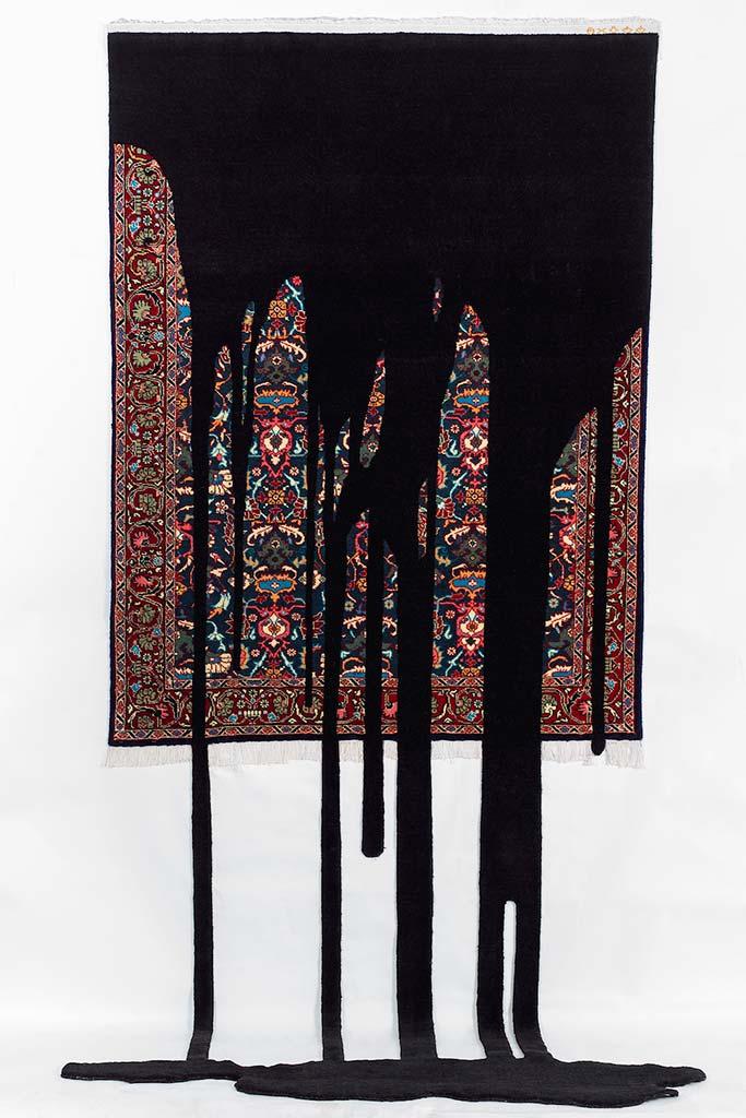 faig ahmed fuel carpet rug art