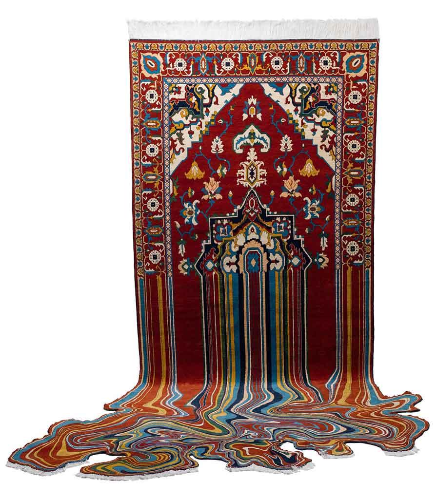 faig ahmed liquid carpet