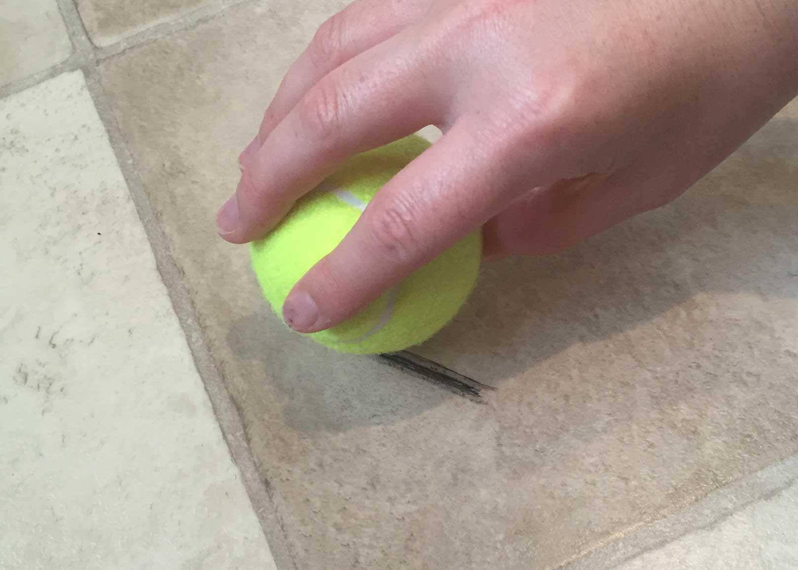 remove scuff marks floor