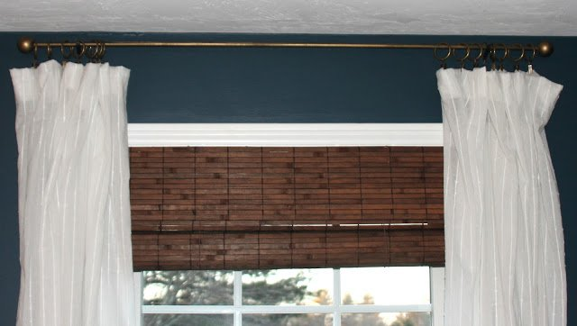 diy dowel pipe curtain rod