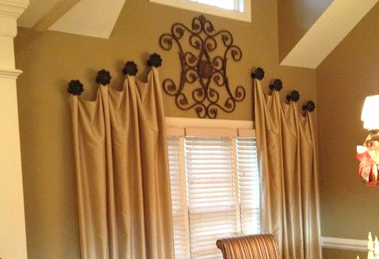 hooks door knobs hang curtains