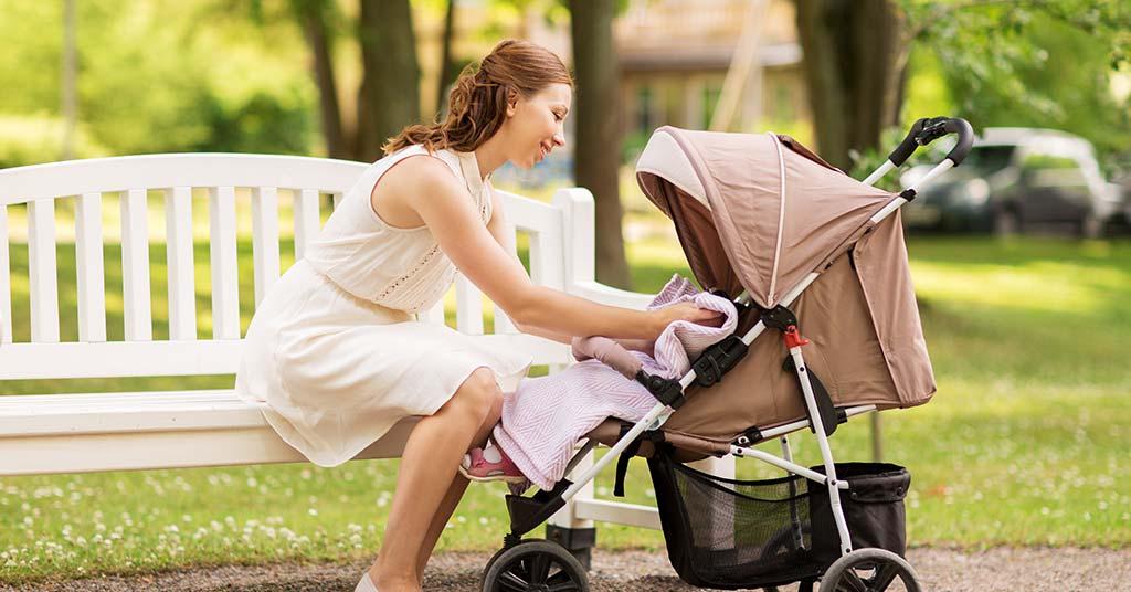 cleaning baby pram stroller